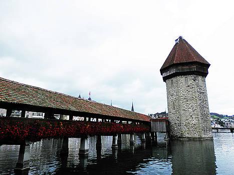 Water Town of Lucerne Bridge by Pema Hou