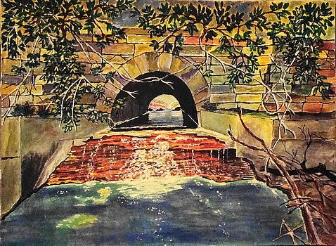 Yvonne Breen - WATER UNDER THE BRIDGE