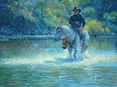 Water Walk by Jim Clements