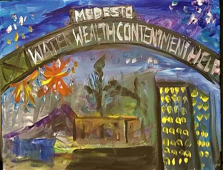 Water Wealth Contentment HELP by James Christiansen