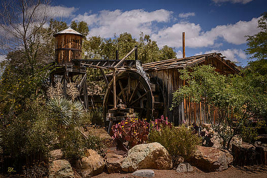 Water Wheel by Pat Scanlon