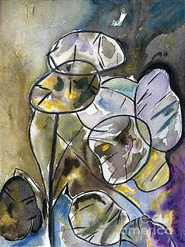 Watercolor Abstract by Galina Khlupina
