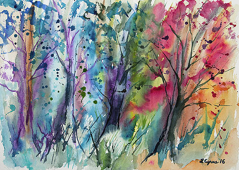 Watercolor - Changing of the Seasons by Cascade Colors