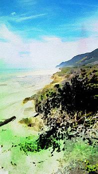 Bonnie Bruno - Watercolor Coastline