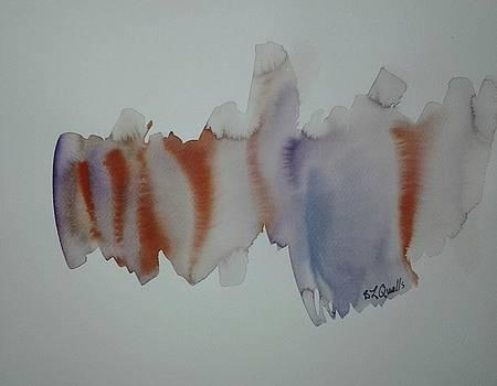 Watercolor Design 2 by B L Qualls