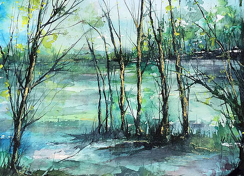 Watercolor Morning by Robin Miller-Bookhout