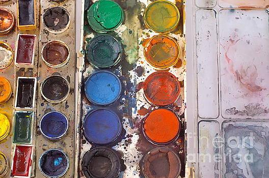 Watercolor Paintbox by Dariusz Gudowicz