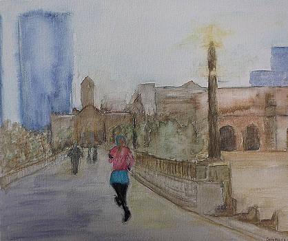Watercolor Runner by Emily McLemore