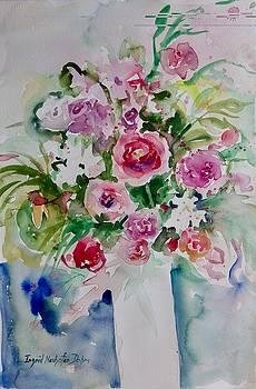 Watercolor Series No. 263 by Ingrid Dohm