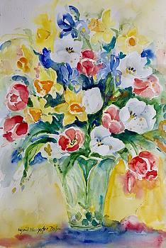 Watercolor Series No. 265 by Ingrid Dohm