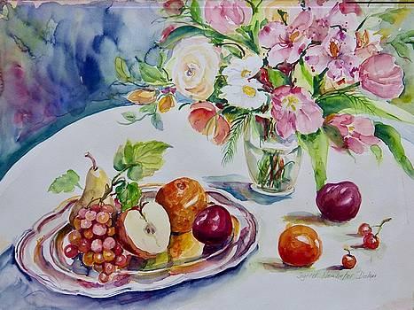 Watercolor Series No. 267 by Ingrid Dohm