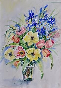 Watercolor Series No. 268 by Ingrid Dohm