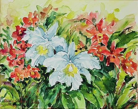 Watercolor Series No. 272 by Ingrid Dohm