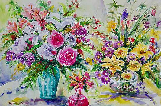 Watercolor Series No. 273 by Ingrid Dohm