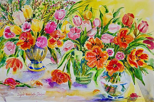 Watercolor Series No. 274 by Ingrid Dohm