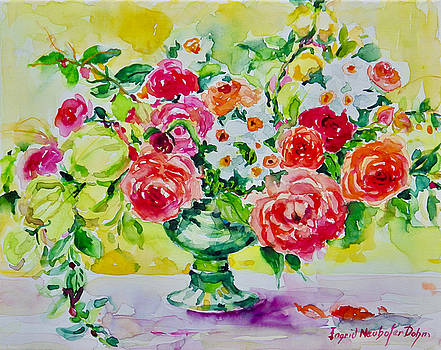 Watercolor Series No. 276 by Ingrid Dohm