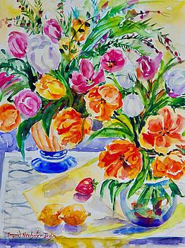 Watercolor Series No. 277 by Ingrid Dohm