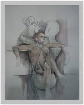 Watercolor Sketch by Andrei Titaley