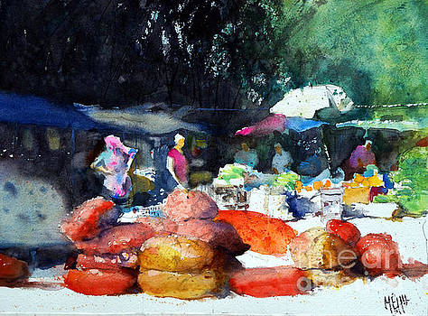 Watercolor study by Andre MEHU