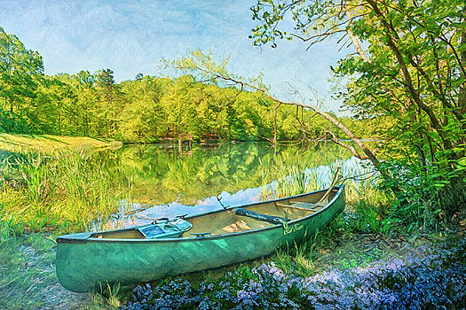 Watercolors at the Lake by Debra and Dave Vanderlaan