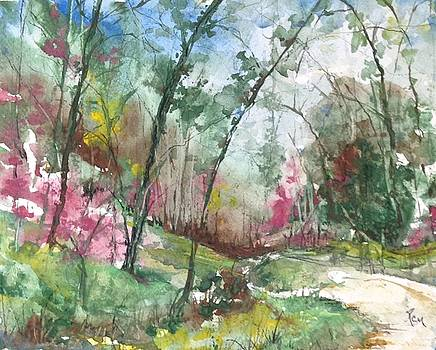 Watercolour  by Robin Miller-Bookhout