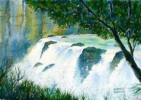 Waterfall 04 by Sandeep Khedkar