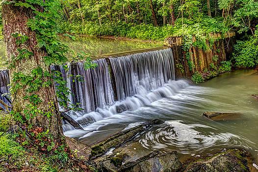 Waterfall Abingdon Virginia by Andrew King