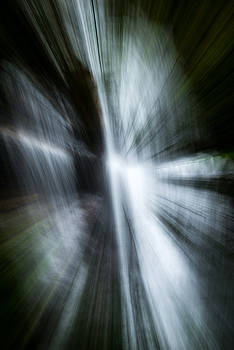Waterfall Abstract by Chris McKenna