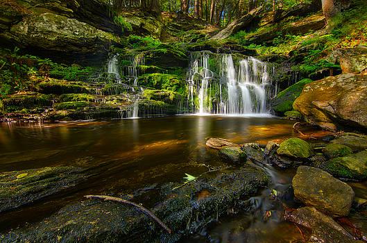 Waterfall at Day Pond State Park by Craig Szymanski