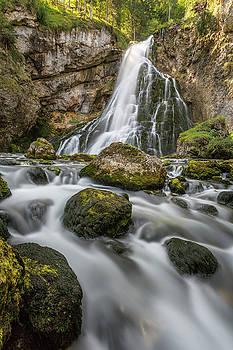 Golling Falls by Claudia Domenig