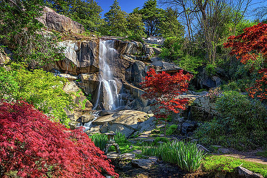 Waterfall at Maymont by Rick Berk