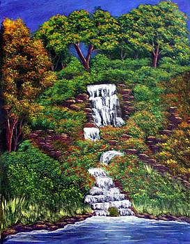 Waterfall by Dawn Blair