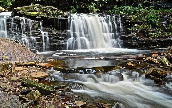 Frozen in Time Fine Art Photography - Waterfall found in Ricketts Glen