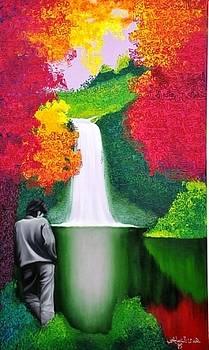Waterfall by Houda Khamlichi