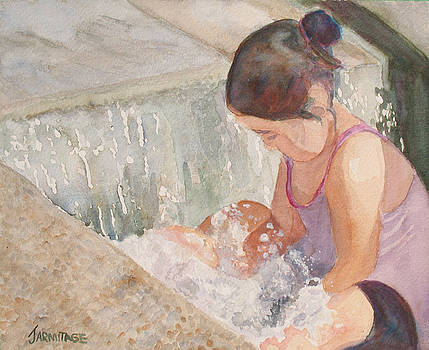 Jenny Armitage - Waterfall in Her Lap
