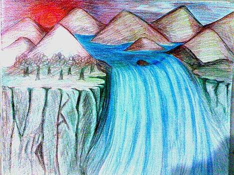 Waterfall by Kashyap Dakorwala