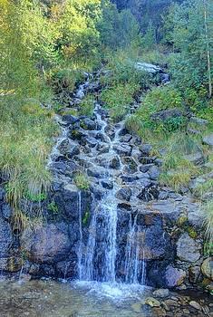 Waterfall by Maria Preibsch