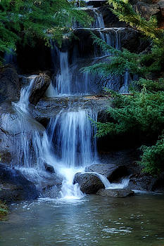 Waterfall by Marion McCristall