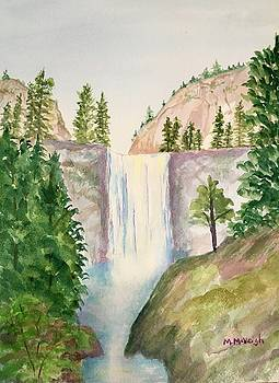 Waterfall by Marita McVeigh