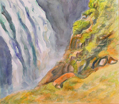 Waterfall by Marty Smith