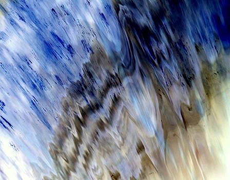 Waterfall by Ron  Romanosky