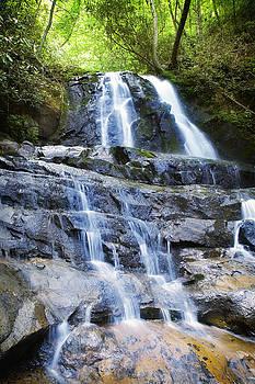 Waterfall Smokie Mountains by Julie Underwood