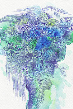 Waterfall - #SS16DW044 by Satomi Sugimoto