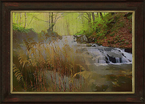 Waterfall Stream Montage by Clive Littin