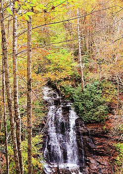 Waterfall waters by CK Brown