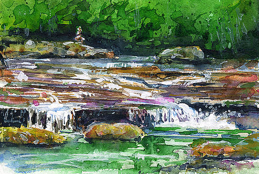 Waterfalls 1 Dolly Sods WV by John D Benson
