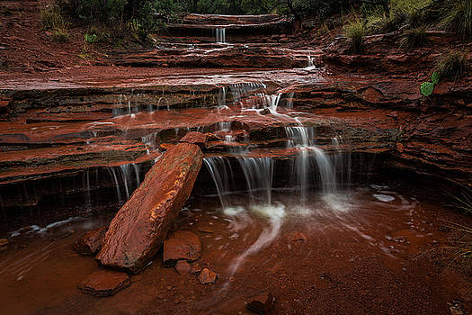 Rick Strobaugh - Waterfalls in the Stream