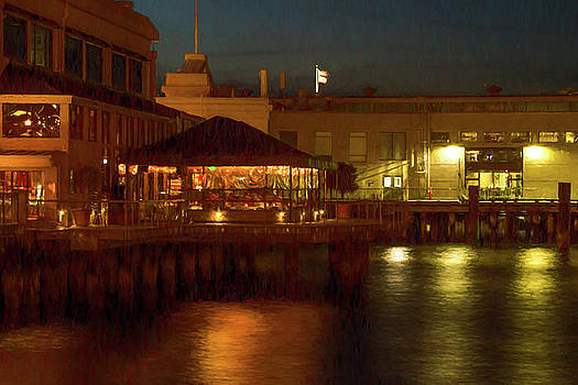 Waterfront Ambience by Bonnie Follett