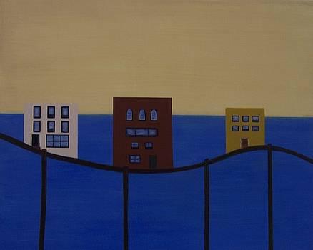 Waterfront Property by Sandy Bostelman