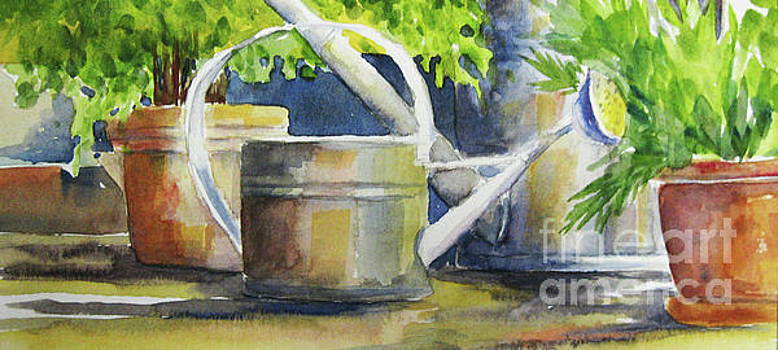 Watering Cans by Marsha Young
